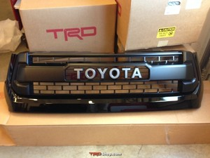 Grille, Tundra TRD Pro - Gloss Black (202) - Toyota (53100-0C260-C0)