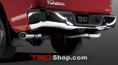 TRD DUAL EXHAUST SYSTEM, MUFFLER KIT (1 OF 2 REQ'D) - Toyota (PTR03-34191)