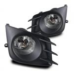 Fog Lights, 2011-2013 Scion tC - Wiring Kit Included - Clear - Winjet (WJ30-0300-09-7809)