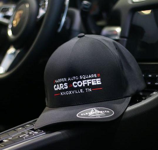 Harper Auto Square Cars & Coffee Flexfit Delta Hat - Porsche (C-CHat)