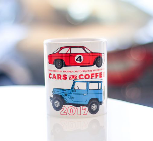 Harper Auto Square's 2017 Collectible Coffee Mug - Porsche (C-CMUG)