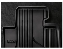 All Weather Rubber Floor Mats - Front - BMW (51-47-2-458-439)