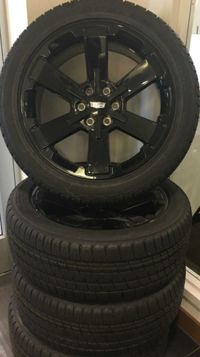 22 Inch Tires >> Hot Deal Gm 22 Inch Black Wheel Tire Pkg