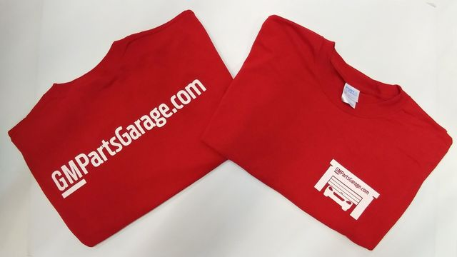 ***FREE FREE***GMPARTSGARAGE T-SHIRTS...FREE WITH ORDERS OVER $300.00 - GM (SHIRT)