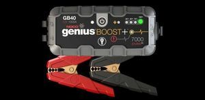 ***HOT DEAL*** GENIUS BOOST PORTABLE POWER JUMP STARTER GB40 1,000 AMP # 19366935