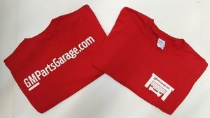 ***FREE FREE***GMPARTSGARAGE T-SHIRTS...FREE WITH ORDERS OVER $300.00