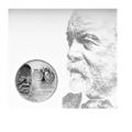 Carl Benz And Gottlieb Daimler Collector's Coin - Mercedes-Benz (MHP-755)