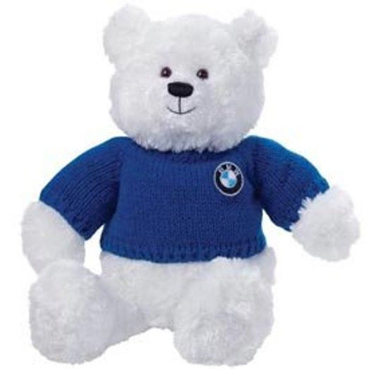 Bmw White Plush Bear 809045 - BMW (80-90-0-439-621)