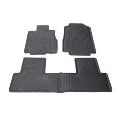OEM NEW Front & Rear All Weather / Season Floor Mats Fits 2012-2016 Honda CR-V - Honda (08P13T0A110A)