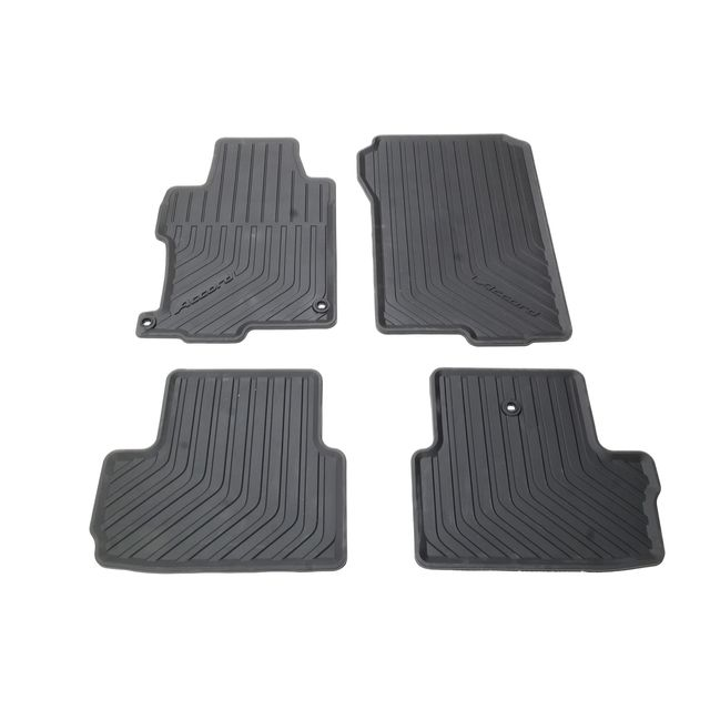 Oem New Front Rear All Weather Floor Mats Black 2013 2017 Accord