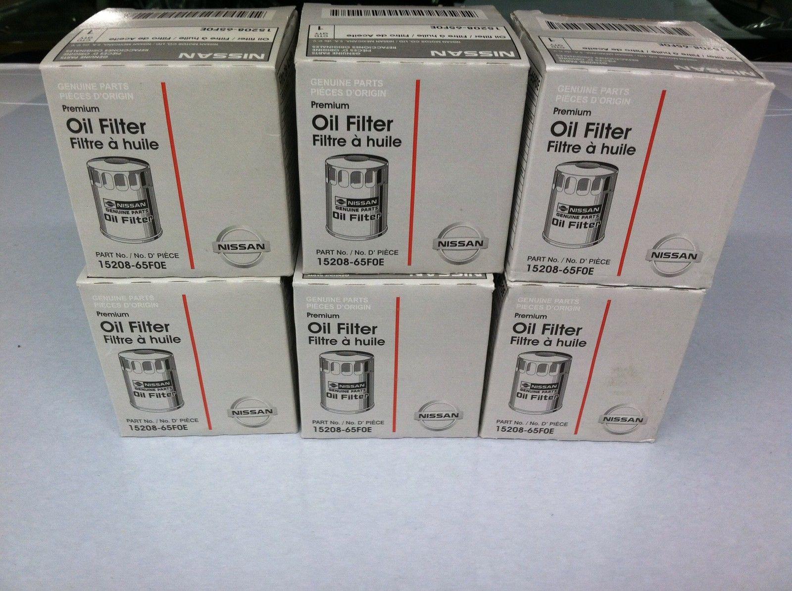 Oil Filter - Nissan (15208-65F0E) SIX PACK - Nissan (OILFILTERSIXPACK)