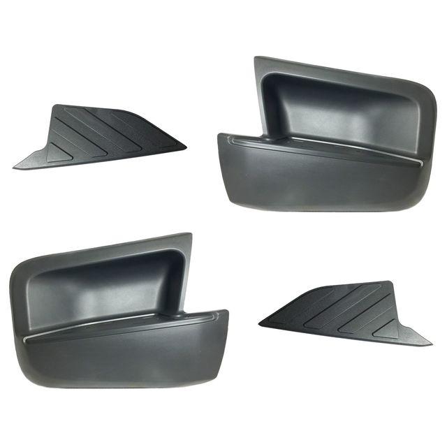 OEM Driver Side Rear Gray Bumper Step /& Pad Kit for Nissan Xterra Truck New
