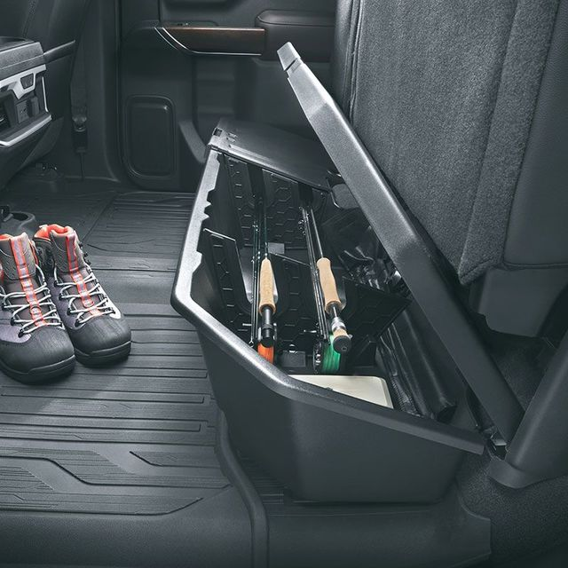 2019 GM 2019 Silverado Sierra Next Gen Underseat Storage ...