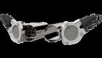 4.00 Inch Dual  QTEC Electric Cutout Combo Kit Quick Time Performance - QuickTime (QTEC80CP-GKWF)