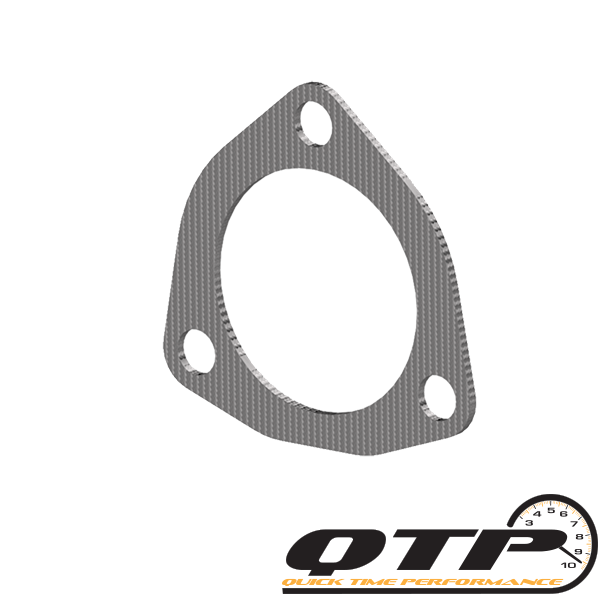 4.00 Inch 3 Bolt Exhaust Gasket Quick Time Performance - QuickTime (10400G-GKWF)