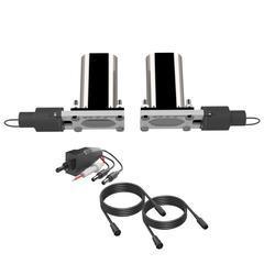 Dual Low Profile Oval QTEC Electric Cutouts Quick Time Performance - QuickTime (QTEC66-GKWF)