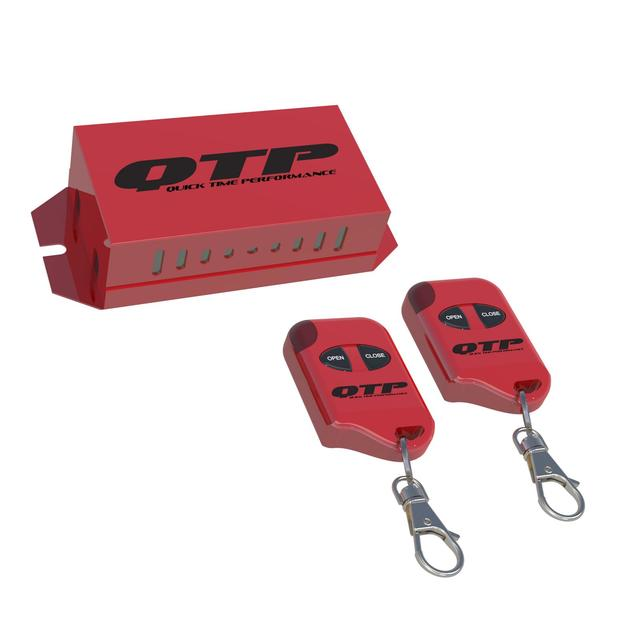 Wireless One Touch Remote Controller For QTP Electric Exhaust Cutouts Quick Time Performance - QuickTime (10901-GKWF)