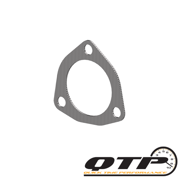 3.00 Inch 3 Bolt Exhaust Gasket Quick Time Performance - QuickTime (10300G-GKWF)