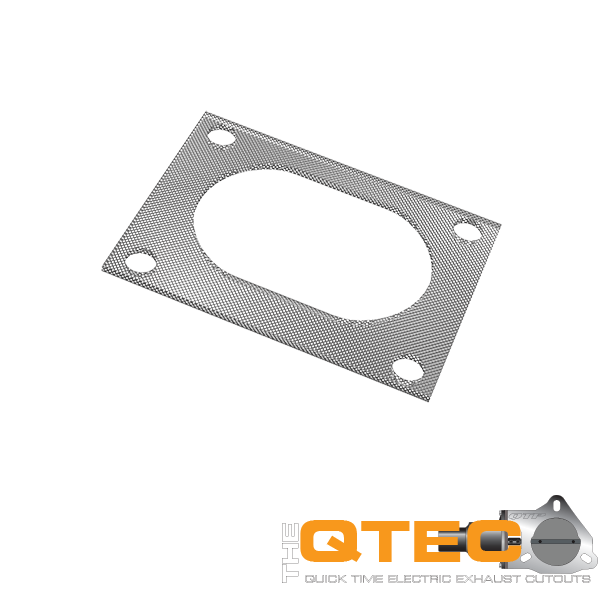 Low Profile Oval 4 Bolt Gasket Quick Time Performance - QuickTime (10338G-GKWF)