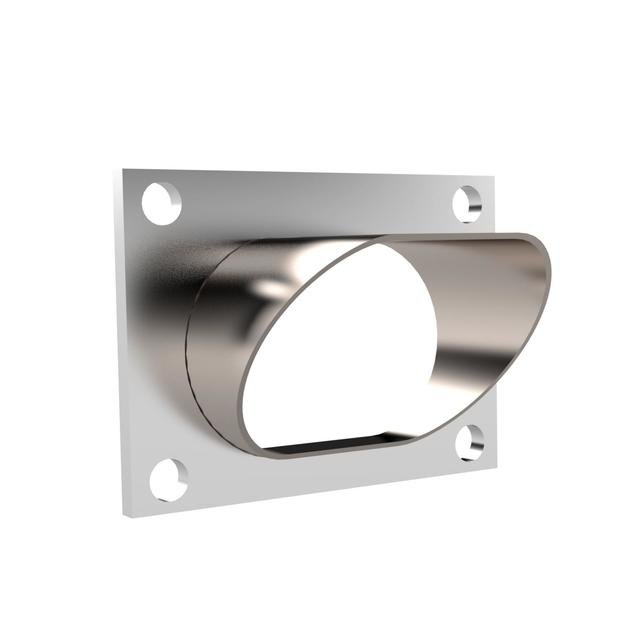 Low Profile Oval Stainless Steel Turn Down Quick Time Performance - QuickTime (11338-GKWF)