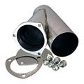 4.00 Inch Stainless Steel Exhaust Cutout Quick Time Performance - QuickTime (10400-GKWF)