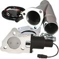 2.25 Inch QTEC Electric Cutout Combo Kit Quick Time Performance - QuickTime (QTEC225CP-GKWF)