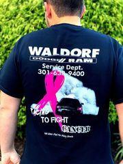 Breast Cancer Awareness Tshirt - Custom (WDBreastCancer)