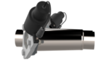 Dual 2.25 Inch QTEC Electric Cutout Combo Kit Quick Time Performance - QuickTime (QTEC45CP-GKWF)