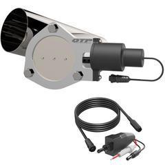 4.00 Inch QTEC Electric Cutout Combo Kit Quick Time Performance - QuickTime (QTEC40CP-GKWF)
