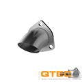 2.50 Inch Adjustable Stainless Steel Turn Down Quick Time Performance - QuickTime (11250-GKWF)