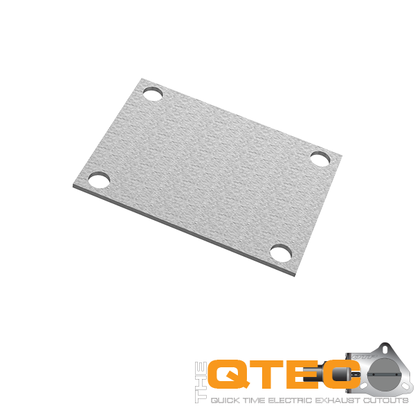 Low Profile Oval 4 Bolt Cover Plate Quick Time Performance - QuickTime (10338C-GKWF)