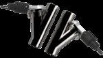 2.50 Inch Dual  QTEC Electric Cutout Combo Kit Quick Time Performance - QuickTime (QTEC50CP-GKWF)