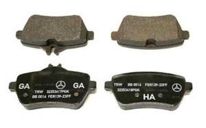 Disk Brake Pad - Mercedes-Benz (0004202805)