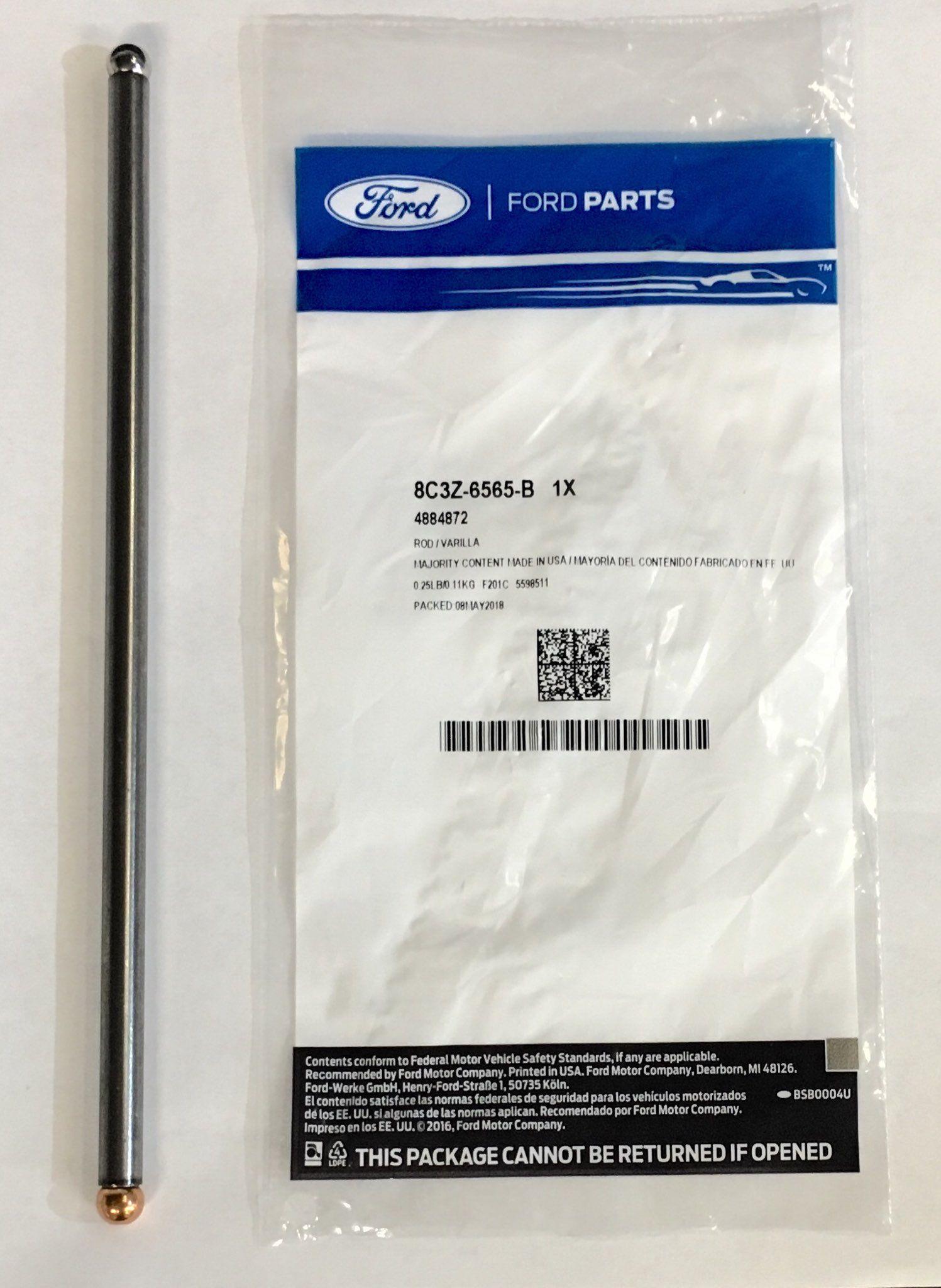 Rod - Valve Push - Ford (8C3Z-6565-B)