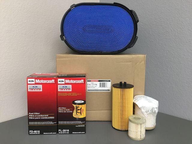 6.0 Diesel Filter Pack - Ford (60FP)