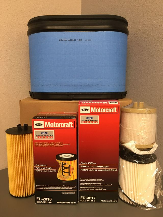 6.4 Diesel Filter Pack - Ford (64FP)