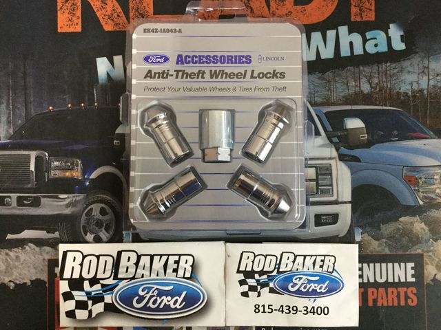 Rod Baker Ford >> Wheel Locks Chrome For Exposed Lugs