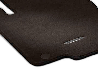 CARPETED FLOOR MATS - SET OF 4 - MOCHA BROWN - Mercedes-Benz (166-680-41-02-68-8Q94)