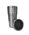 Embossed double wall stainless steel tumbler