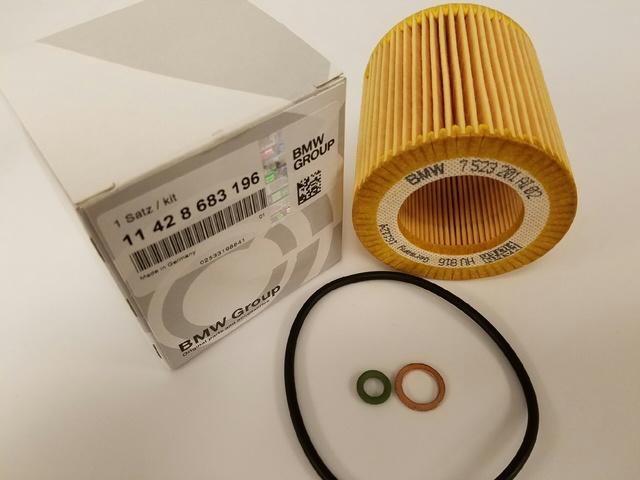 BMW OEM Engine-Oil Filter 11428683196 - BMW (11428683196)