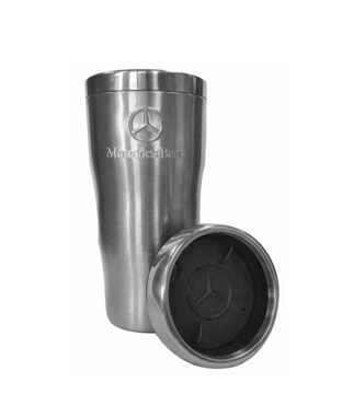 Embossed double wall stainless steel tumbler - Mercedes-Benz (AMHD125SL)