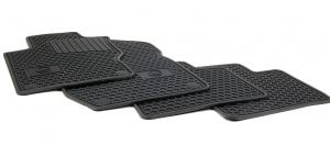 FLOOR MATS, ALL-SEASON - BLACK, SET OF FOUR - Mercedes-Benz (Q-6-68-0686)