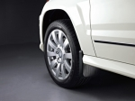 MUD FLAPS, FRONT SET - FOR VEHICLES WITHOUT RUNNING BOARDS