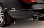 Mud Flaps (Rear) - Coupe