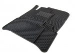 ALL-SEASON FLOOR MATS (BLACK) - SET OF FOUR - Mercedes-Benz (Q-6-68-0668)