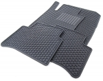 ALL SEASON FLOOR MATS - BLACK - FOR 4MATIC VEHICLES - Mercedes-Benz (Q-6-68-0671)