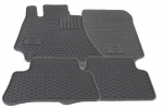 Floor Mats - All-Weather - Sedan - Gray - Mercedes-Benz (Q-6-68-0710)
