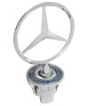Hood Ornament - Mercedes-Benz (210-880-01-86)