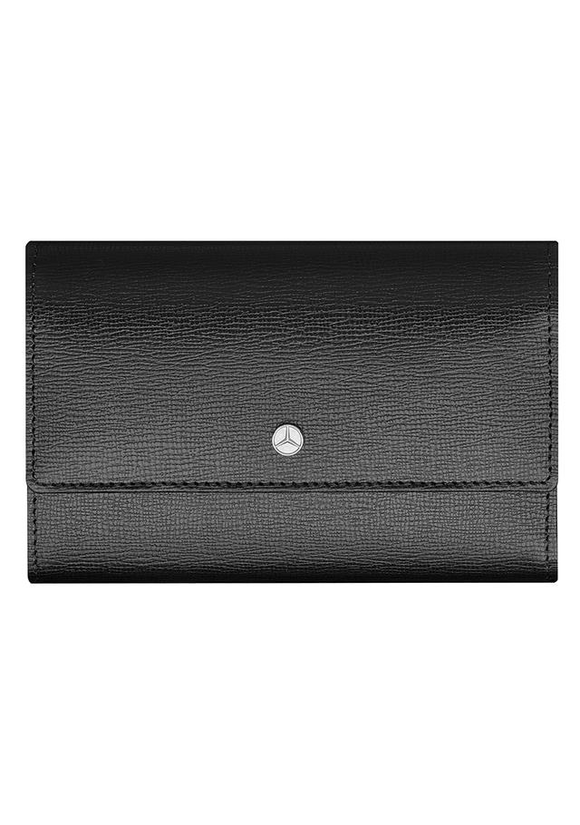 mercedes benz women 39 s saffiano wallet mbp389 oemercedes. Black Bedroom Furniture Sets. Home Design Ideas