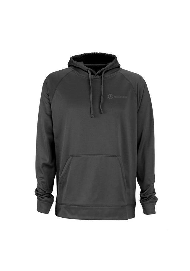 mercedes benz men 39 s sport fleece pullover hoodie mwm073. Black Bedroom Furniture Sets. Home Design Ideas